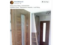 Door Fitting Service Nottingham. City and Guild's Qualified Joiner's