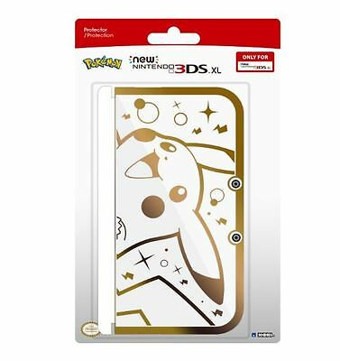 HORI Pikachu Premium Gold Protector for New Nintendo 3DS XL Officially Licensed