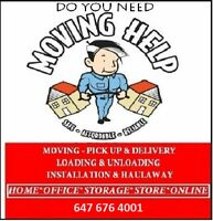 Local and Long distance Movers --INSURED AND BONDED---6476764001