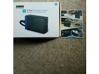 5-Port USB Desktop Charger
