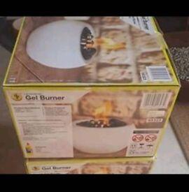 Gel Burners New in Box x 2