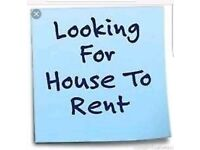 Looking for 2/3 bed HOUSE