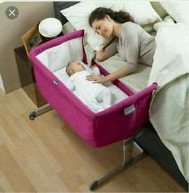 Chicco next to me (next2me) cot crib
