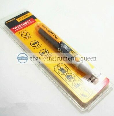 Fluke 2ac-c2 Non Contact Voltage Detector Tester Meter Pen 200-1000v