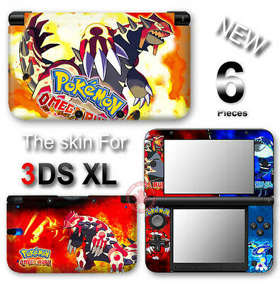 Pokemon Omega Ruby And Alpha Sapphire SKIN STICKER COVER #2 for Nintendo 3DS
