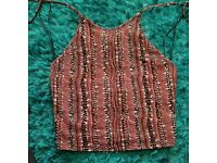 Womans size 6 new look top
