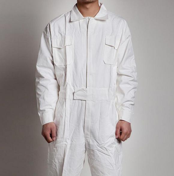 USXS Blue Men Coverall Overall Mechanic Protective Force Flight Uniform Work Sui
