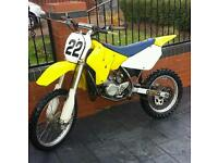 suzuki rm 85 motorcross bike crosser mx yz kx cr ktm 85 pit bike moped quad