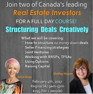 Join two of Canada's leading Real Estate Investors!