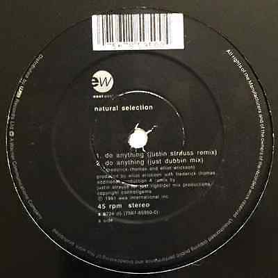 """NATURAL SELECTION - Do Anything (12"""") (VG+/NM)"""
