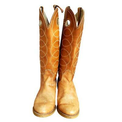 ACME Women's Size 8.5 A Cowboy Boots Buckaroo Leather Tall Western Rodeo VTG