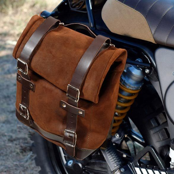 443c072264 Unit Garage Waxed Suede Luggage Side Pannier and Subframe for BMW K75 and  K100