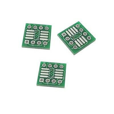 20 Pcs New Sop8 So8 Soic8 To Dip8 Interposer Board Pcb Board Adapter Plate