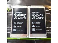 SAMSUNG GALAXY J7 CORE 32GB - UNLOCKED TO ALL NETWORKS - BRAND NEW