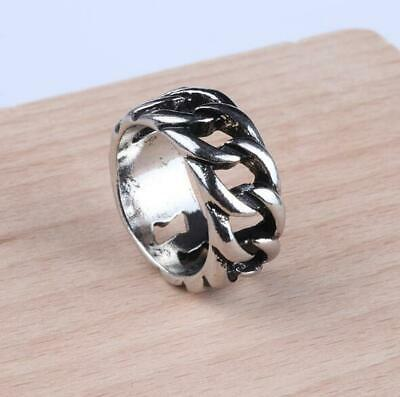 Wholesale Mens Stainless Steel Gothic Punk Motorcycle Biker Rings Jewelry - Punk Wholesale