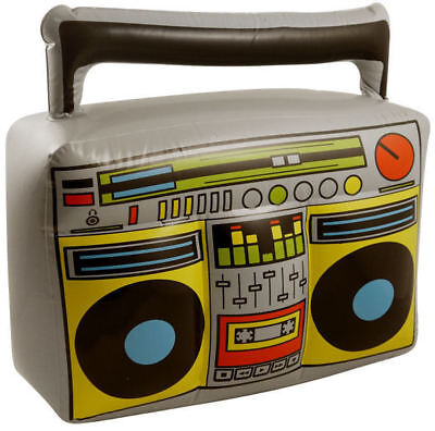 Inflatable Boom Box - Pinata Costume 80's Hip Hop Fancy Dress Novelty
