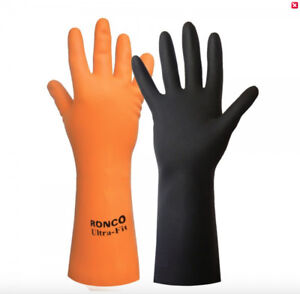 $2.09 each pair - FLOCKLINED SAFETY GLOVES - LARGE - LIQUIDATION