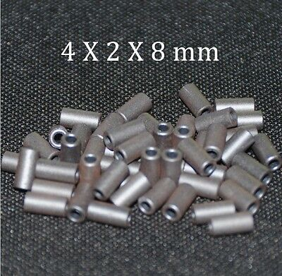 20pcs Ferrite Core Emi Filter 4x2x8mm Ferrite Cores Ring Anti-parasitic Toroide