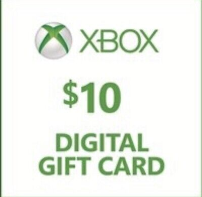 $10 Xbox Gift Card (Xbox one And Xbox 360) USA ONLY Quick Delivery