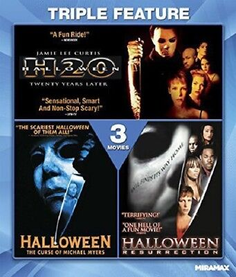 Halloween Collection H20 Curse of Michael Myers Resurection New RegB Blu-ray](Halloween Michael Myers Collection Dvd)