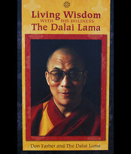 LIVING WISDOM WITH HIS HOLINESS THE DALAI LAMA Pack. New&Sealed;