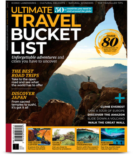 Ultimate Travel Bucket List Magazine Issue 2 2020 The Best Road Trips
