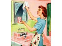 Cleaning & Ironing.