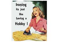 Too much ironing?