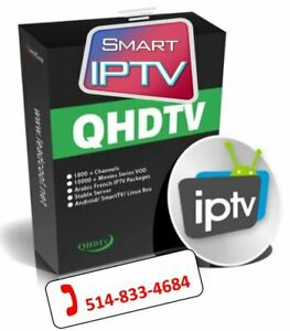 IPTV (QHDTV - SMART TV Samsung et LG via l'app Smart IPTV - MAG