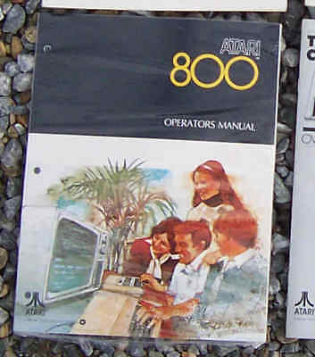 800 Operators Manual New original Atari
