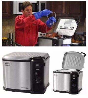 Butterball Indoor Fryer Electric Turkey XL Masterbuilt 23011114 Large Deep Cook