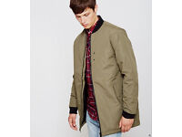 D-struct long line bomber jacket/coat (BRAND NEW with tags)