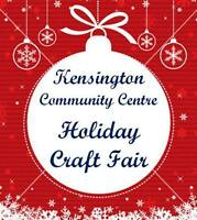 KENSINGTON Craft Fair - Dec 5th - Creative Crafters Wanted!