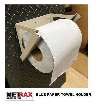 NEW Blue Paper Towel Holder - Van Shed Garage Accessory FORD CUSTOM T5 TRANSIT