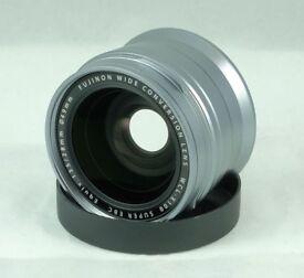 Fujifilm WCL-X100 wide angle lens (Fujinon)