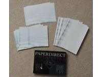 Vista Paper/Paper direct compliment slips, trifold brochure paper for laser printer and copier