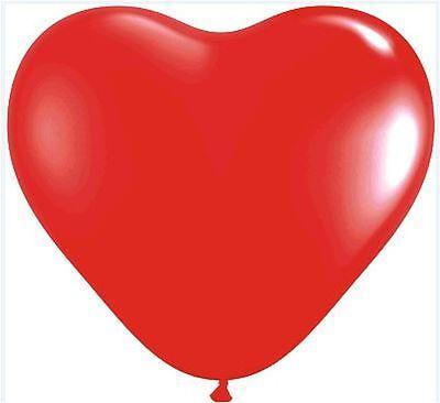 rot XL, Umfang ca. 100 cm, Ballons,Hochzeit,Liebe (Liebe Luftballons)