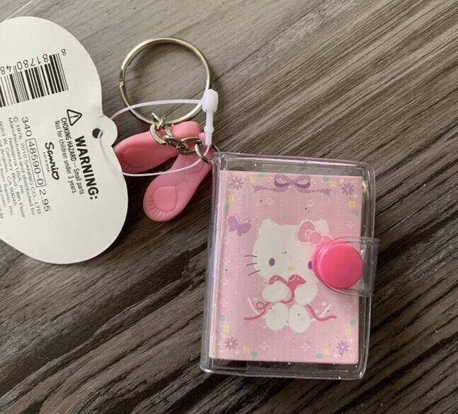 Sanrio Hello Kitty Mini Notebook Keychain Ballet Slippers