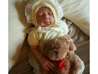 Beautiful reborn baby girl