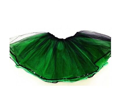 TEENS AND ADULT TUTU Green Dress Up Party Events  - Adult Green Tutus