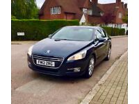 2012 Peugeot 508 1.6 e-HDi Allure Automatic(start/stop) FULL SERVICE HISTORY PX Bmw 635d 2007+