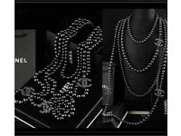 Chanel new in box pearl CC necklaces rrp £1800
