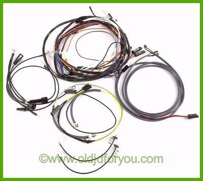 Ar21125r John Deere 730 Diesel Wiring Harness Electric Start Easy To Install