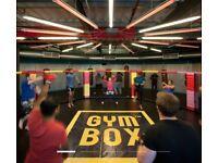 Gymbox - Stratford 10 month membership £69pm