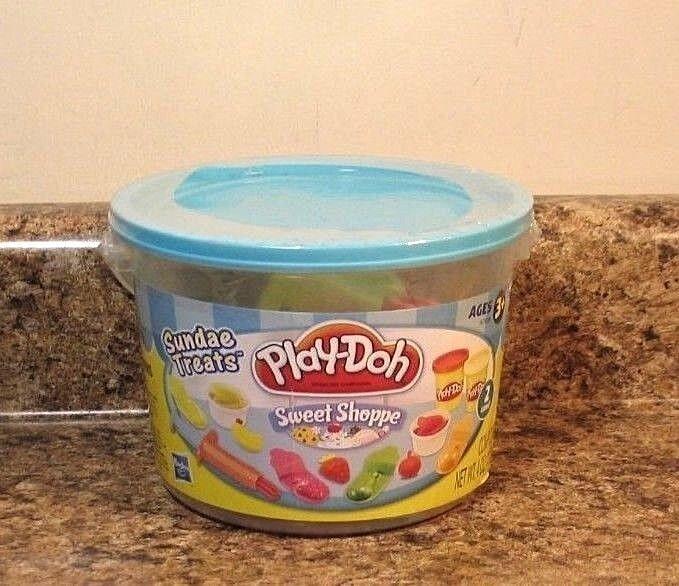 Play-doh Sweet Shoppe Sundae Treats 4 Oz. Pail