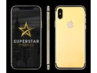 iPhone 6 6S 7 - LOOK - Limted Offer - Gold Plate your iPhone with YOUR name or logo of any choice