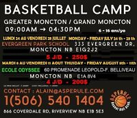 camp d'été basketball