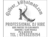 DJ wanted? Pro Club,mobile,wedding,engagement,birthday,kids party.PLI certs .Can cover all of NI