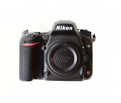 Nikon D750 Digital SLR Camera Full Frame 24.3 MP -Black (Body Only) No WiFi