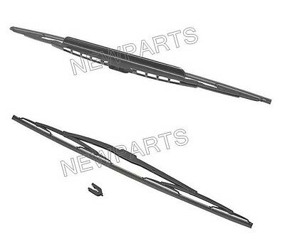 For BMW e32 e34 91-95 OEM windshield Wiper Blade SET L+R Windscreen Glass Wiping